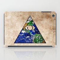 all seeing eye iPad Cases featuring All Seeing Eye by Spooky Dooky