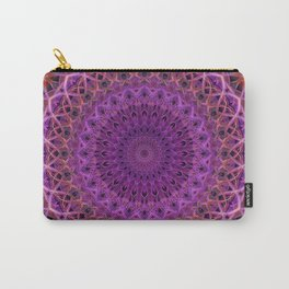 Violet and red mandala Carry-All Pouch