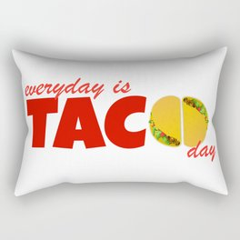 Taco Day Rectangular Pillow