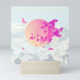 center epicentrum Mini Art Print
