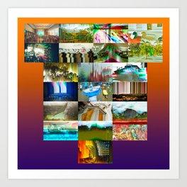 PostalES 01 Art Print
