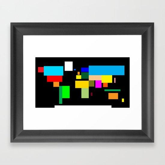 Oversimplification Framed Art Print