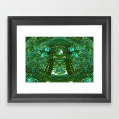 Abstract Gazebo Framed Art Print