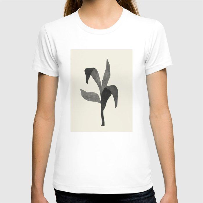 Plant 08 BW T-shirt