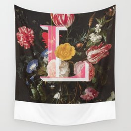 Letter L Wall Tapestry