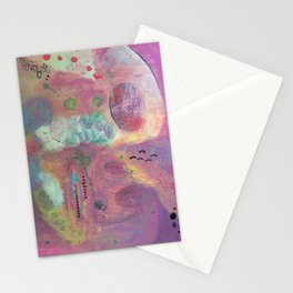 Violet love Stationery Cards