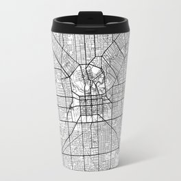 Adelaide Map White Travel Mug