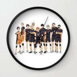 karasuno after match Wall Clock
