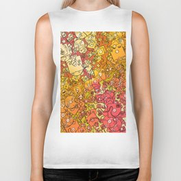Technology Psychedelic Warm Biker Tank