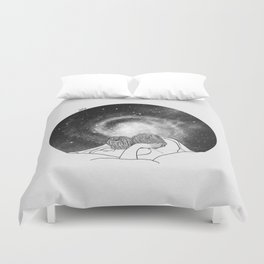 Our imaginary night. Duvet Cover