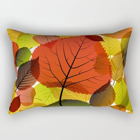 AUTUMN IS BACK Rectangular Pillow