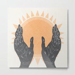 Sunlight Shows Metal Print