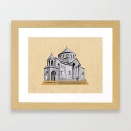Saint Hripsime Church (Armenia) Framed Art Print