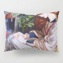 """Dante Gabriel Rossetti """"Pia de Tolomei"""" Pillow Sham"""
