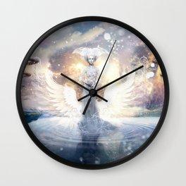 Cold Night Wall Clock