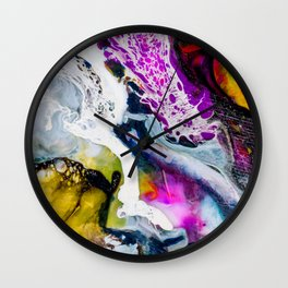 Abstract Melt V Wall Clock