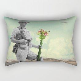 Conquered Rectangular Pillow