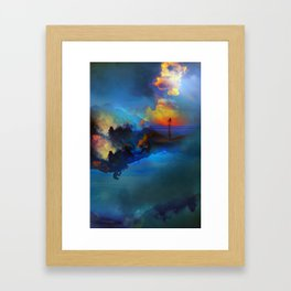 Time keepers Framed Art Print