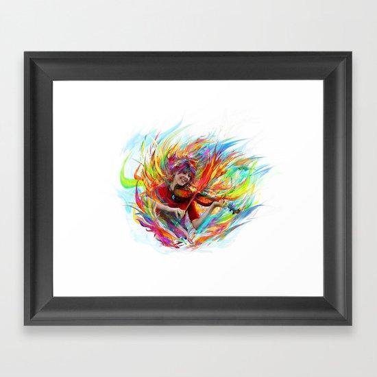 Lindsey Stirling Framed Art Print