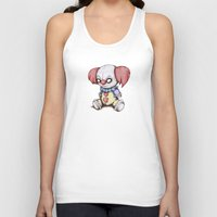 pennywise Tank Tops featuring PlushyWise by Ludwig Van Bacon