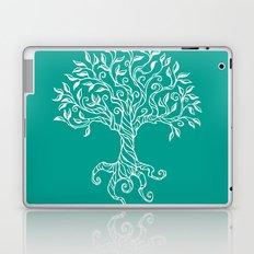 Tree of Life Teal Laptop & iPad Skin