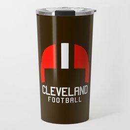 Cleveland Ohio Football Travel Mug