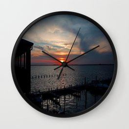 Midlife Cabernet Wall Clock