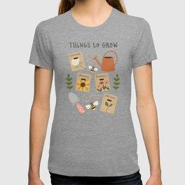 Things to Grow - Garden Seeds T-shirt