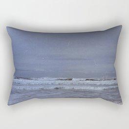 Waves along the Oregon Coast Rectangular Pillow