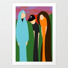The Prime Trio Art Print