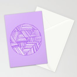 Sans Beginning Stationery Cards