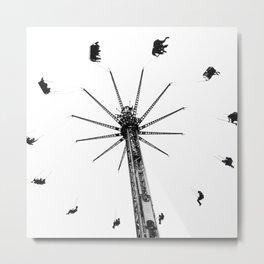 Ferris Wheel In The Sky Metal Print