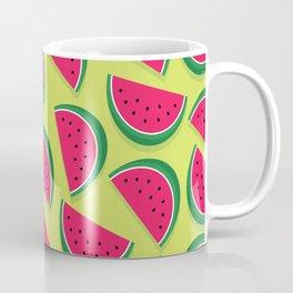 Juicy Watermelon Slices Coffee Mug