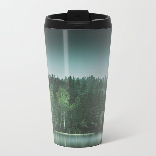Echoes III Metal Travel Mug