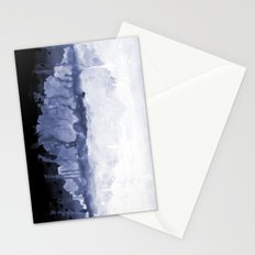 Paint 5 abstract water ocean arctic iceberg nature ocean sea abstract art drip waterfall minimal  Stationery Cards