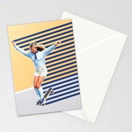 Skate Like a Girl 02 Stationery Cards