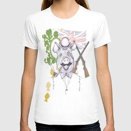 Stately Hog T-shirt