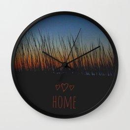 Home OBX Wall Clock
