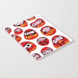 Japanese Daruma Characters Notebook