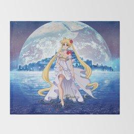 Sailor Moon Crystal Princess Serenity Throw Blanket