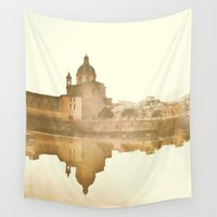 florence Wall Tapestries featuring Florence Reflected by Katie Koop