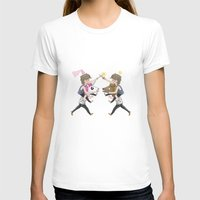 fight T-shirts featuring FIGHT! by Meuphrosyne