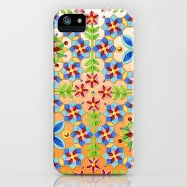Decorative Tangerine Gothic iPhone Case