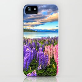 LUPINES FIESTA iPhone Case