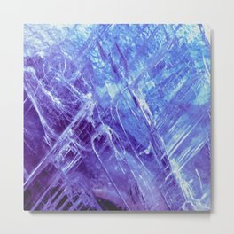 Cool Quartz Metal Print