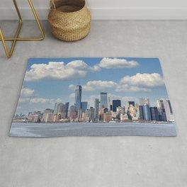 Manhattan New York City Big Apple Rug