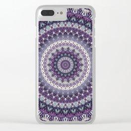 Mandala 313 Clear iPhone Case