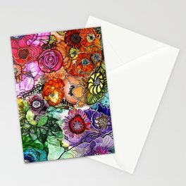 Razzle D Floral Stationery Cards