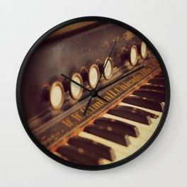 Vintage Kimball Organ Wall Clock