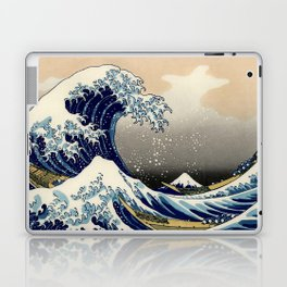 The Great Wave off Kanagawa Hokusai Laptop & iPad Skin
